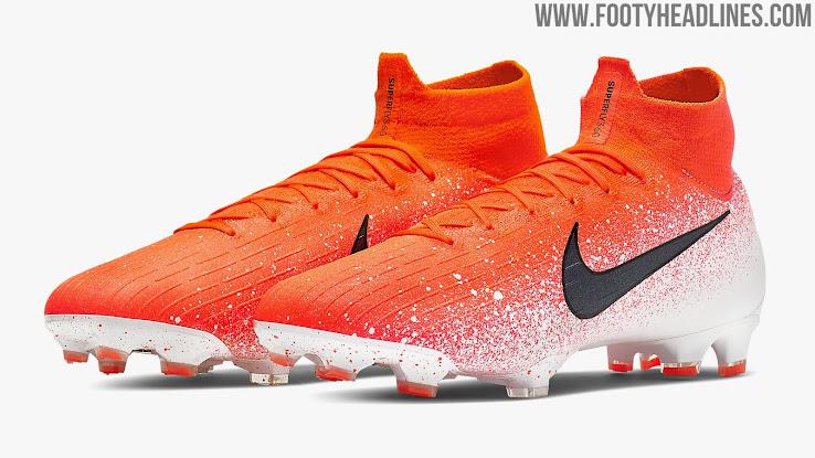 premium selection 3d3a9 ccb07 Orange & White Nike Mercurial Superfly VI 'Euphoria Pack ...