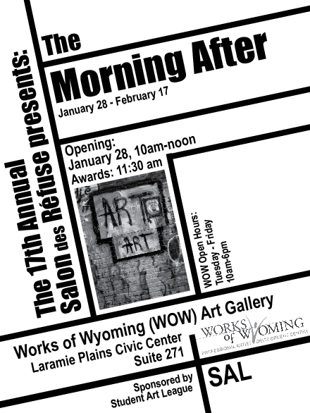 Works Of Wyoming Art Gallery: The Morning After: Salon des