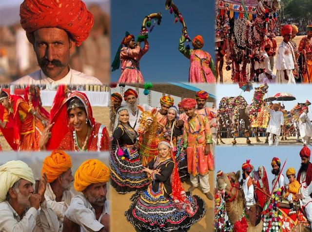 Tour à Pushkar camel festival Inde Rajathan