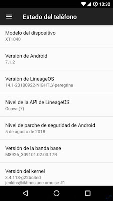 xt1040 lineage os 14.1