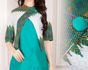 Contoh Batik Bolero Terbaru