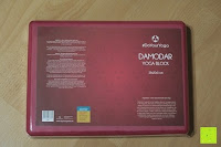 Verpackung: Yogablock »Damodar« - flach- erhältlich in den Trendfarben: Erdbraun Moosgrün Bordeaux Currygelb Lila - der ideale Yogaklotz aus gehärteten Schaumstoff (Hartschaum)- REACH geprüft (keine Schadstoffe) der Yoga Brick ist ein praktisches Hilfsmittel (Yogazubehör) für eine Vielzahl an Yogaübungen / Asanas : Gesamtgewicht liegt bei ca.180g (schön leicht) / Größe 28cm x 20cm x 5cm