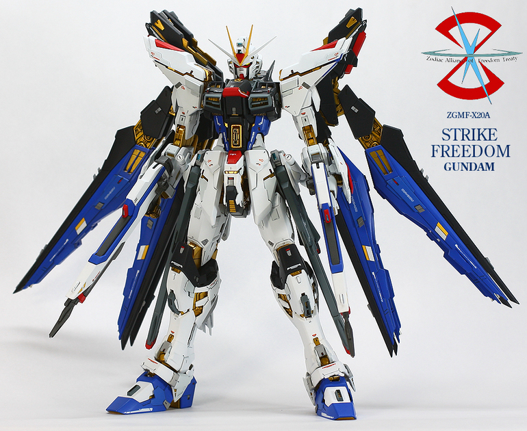 Custom Build: MG 1/100 Strike Freedom Gundam [Ver. 1.5 ...