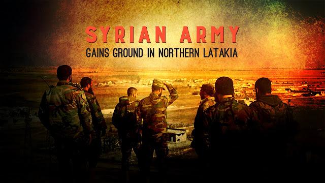Χρονικό της προέλασης του Συριακού Στρατού στην Παλμύρα και την Λατάκεια