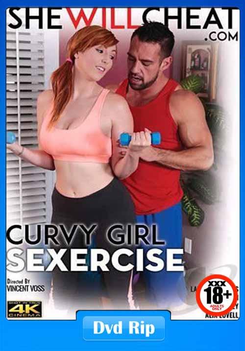 [18+] Curvy Girl Sexercise XXX 2017 DVDRip 400MB x264
