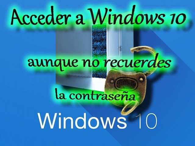 Elimina o modifica la contraseña de Windows 10 si no la recuerdas con Hiren's BootCD