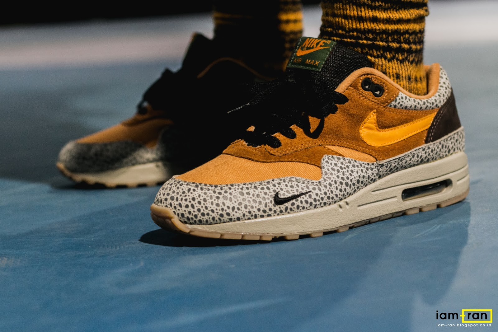 half off 90d4f 8d21e IAM-RAN: ON FEET : Leo - Nike Air Max 1 x Atmost -