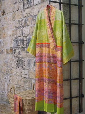 Montalcino Bassetti Granfoulard. Kimono