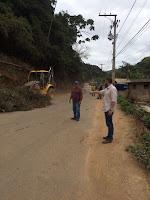 Estrada que liga Santa Rosa a Mottas, no 3º Distrito, recebe manutenção
