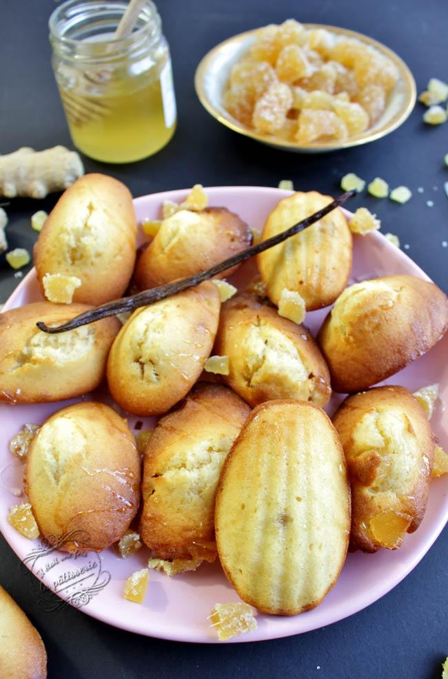 madeleines vanille