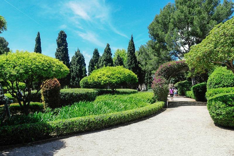 Jardines de Marivent, Mallorca