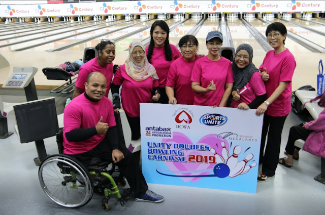 UNITED IN RAISING BREAST CANCER AWARENESS MAIN SPONSOR ANTABAX ENCOURAGES CANCER SURVIVORS TO LIVE AN ACTIVE LIFESTYLE