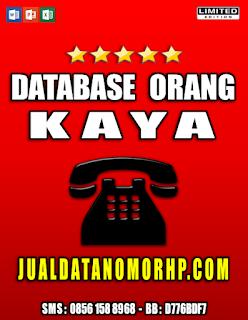 Jual Database Nasabah