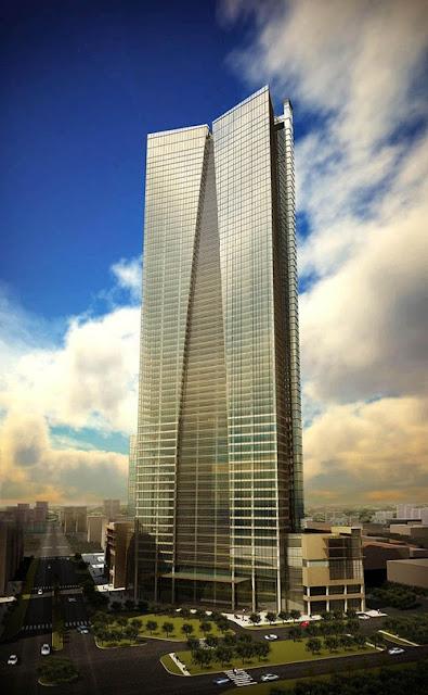 Phối cảnhTòa cao ốc bất động sản Lotte Center