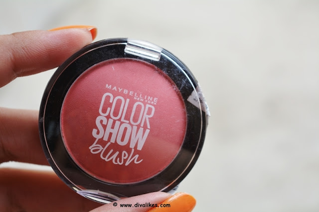 Maybelline Color Show Blush Fresh Coral Review