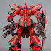 Custom Build: MG 1/100 MSN-04 Sazabi Ver. Ka with Quadruple Gatling Set