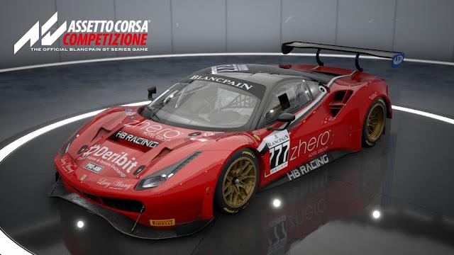 تحمل لعبة Assetto Corsa Competizione