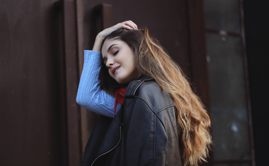 Estou Usando: Fones de Ouvido e Jaqueta Oversized - talita vieira