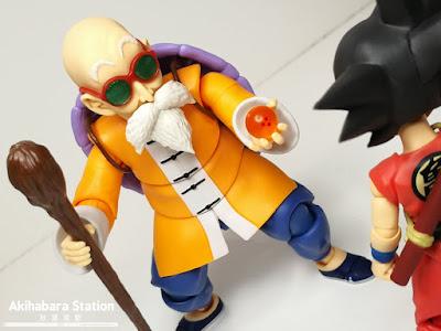 S.H.Figuarts Kame-Sennin Mutenroshi de Dragon Ball - Tamashii Nations