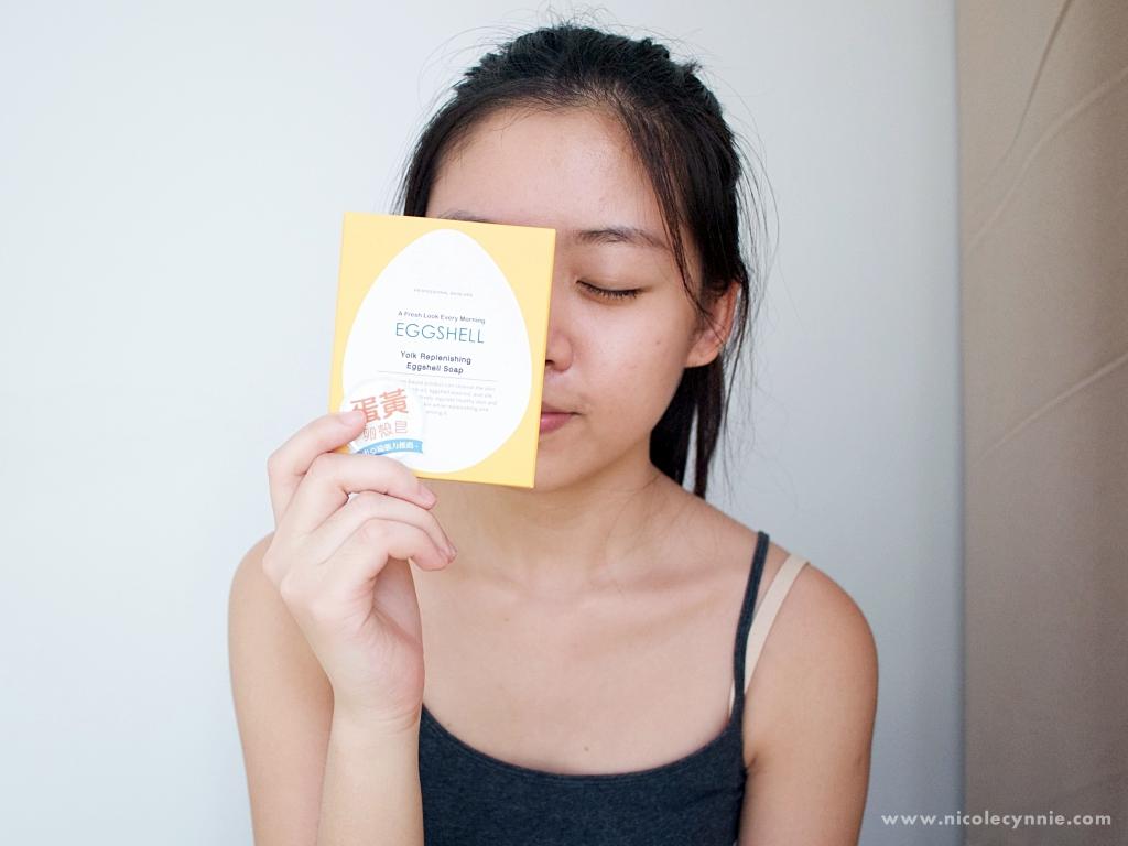 Nicole Cynnie   Dr.Douxi Yolk Replenishing Eggshell Soap Review