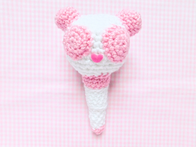 APINK Fan Stick Crochet Pattern