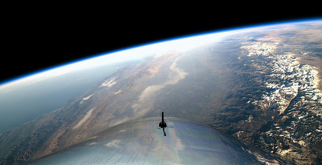 virgin galactic s spaceshiptwo completes first manned spaceflight