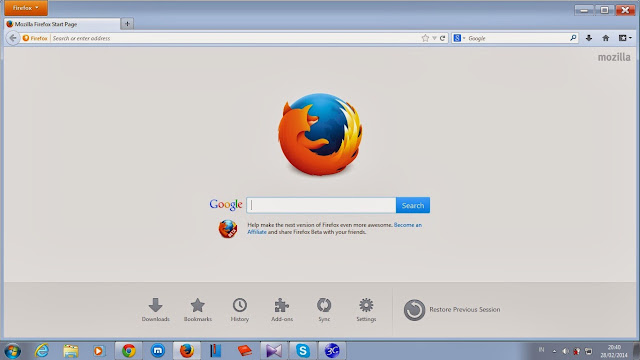 Download Mozilla FireFox 46.0 Beta 2 Terbaru