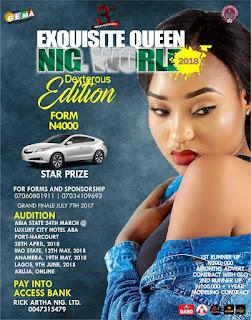 Exquisite Queen International Beauty Pageant (Dexterous Edition)