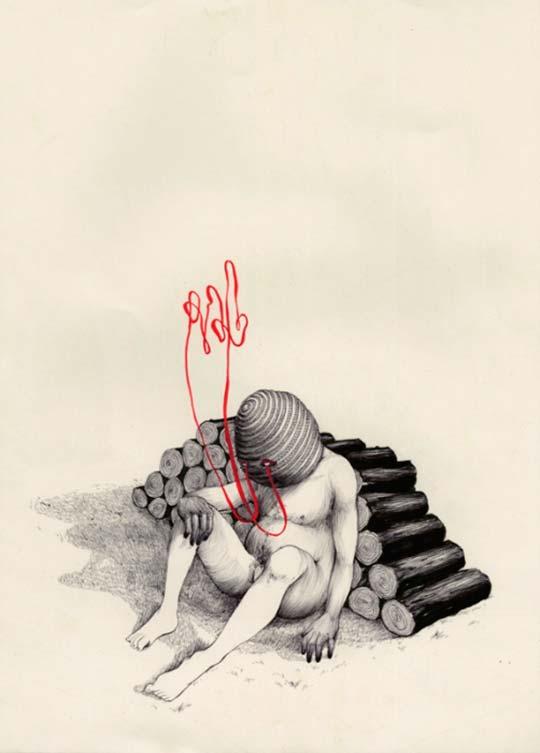 Dibujo, ilustración y surrealismo por Pat Perry