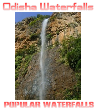 Odisha Waterfalls List