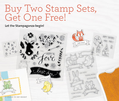 March Promotions - Stampaganza!