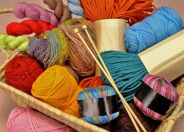 organizar lanas, organizadores de crochet