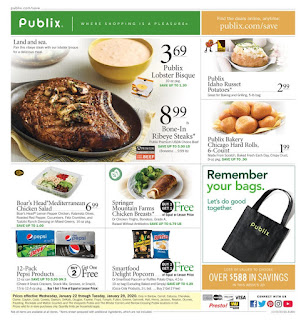 ⭐ Publix Ad 1/22/20 or 1/23/20 and Publix Ad 1 29 20 ⭐ Publix Weekly Ad January 22 2020