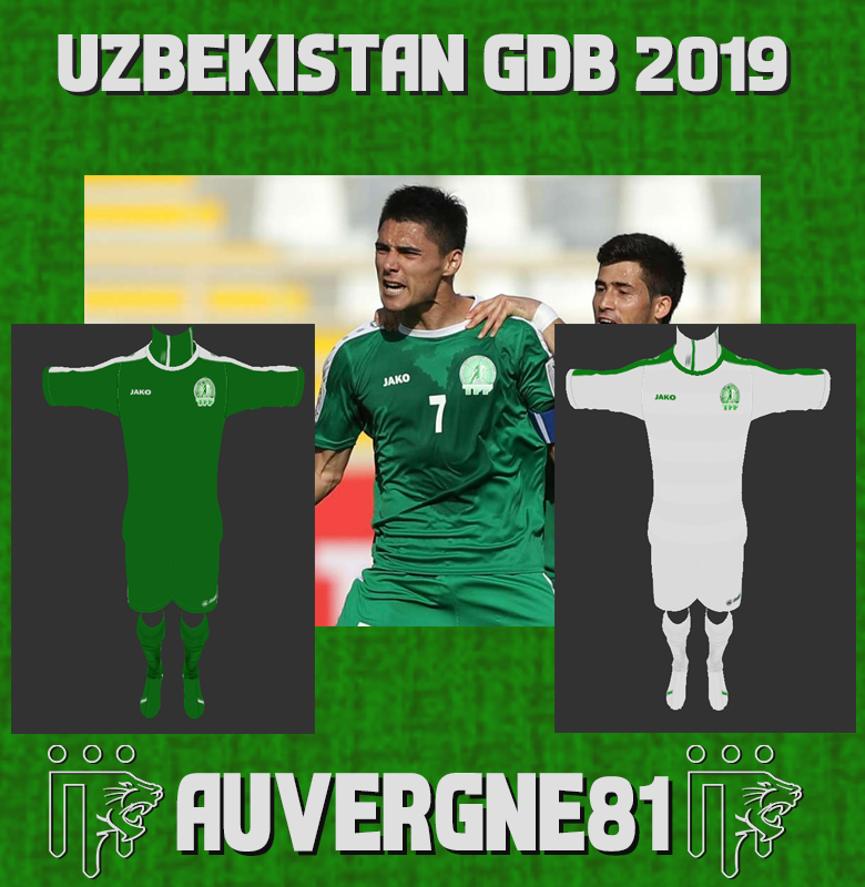 PES 2013 Turkmenistan GDB asian cup 2019 by Auvergne81