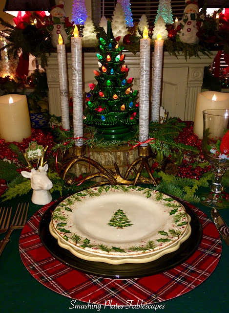Smashing Plates Tablescapes Winters Wonder
