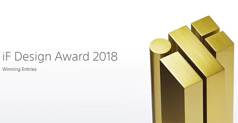 Sony wins 19 iF Design Awards with Four Golds
