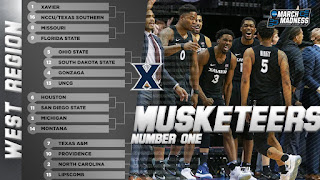 2018 NCAA Tournament March Madness West Region