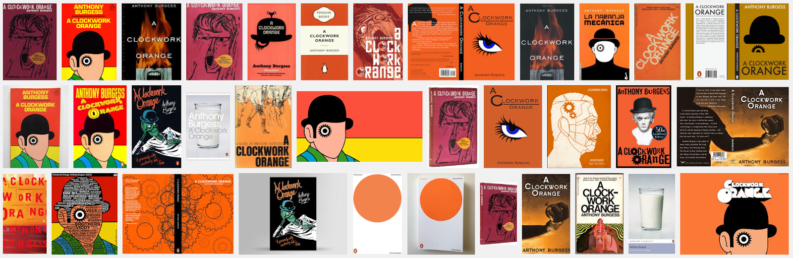 all year 3 work design practice a clockwork orange book cover a clockwork orange book cover redesign research into previous book covers