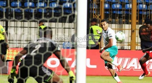 المصري يحقق فوز كبير على فريق إينوجو رينجرز في كأس الكونفيدرالية الأفريقية باربع اهداف لهدفين