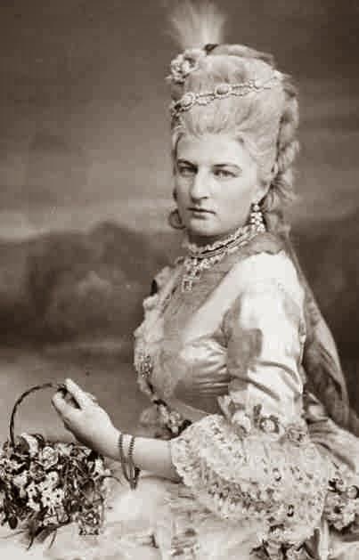 Duchesse Amalie en Bavière, née princesse de Saxe-Cobourg et Gotha 1848-1894