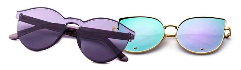Óculos Flat Sunnies Lilás