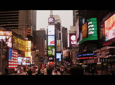 Time Square in New York, NY - Photo by Michelle Judd of Taste As You Go