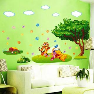 Gambar Wallpaper Dinding Winnie the Pooh Terbaru dan Lucu 200163