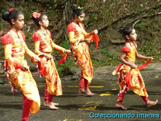 Perahera en Kandy