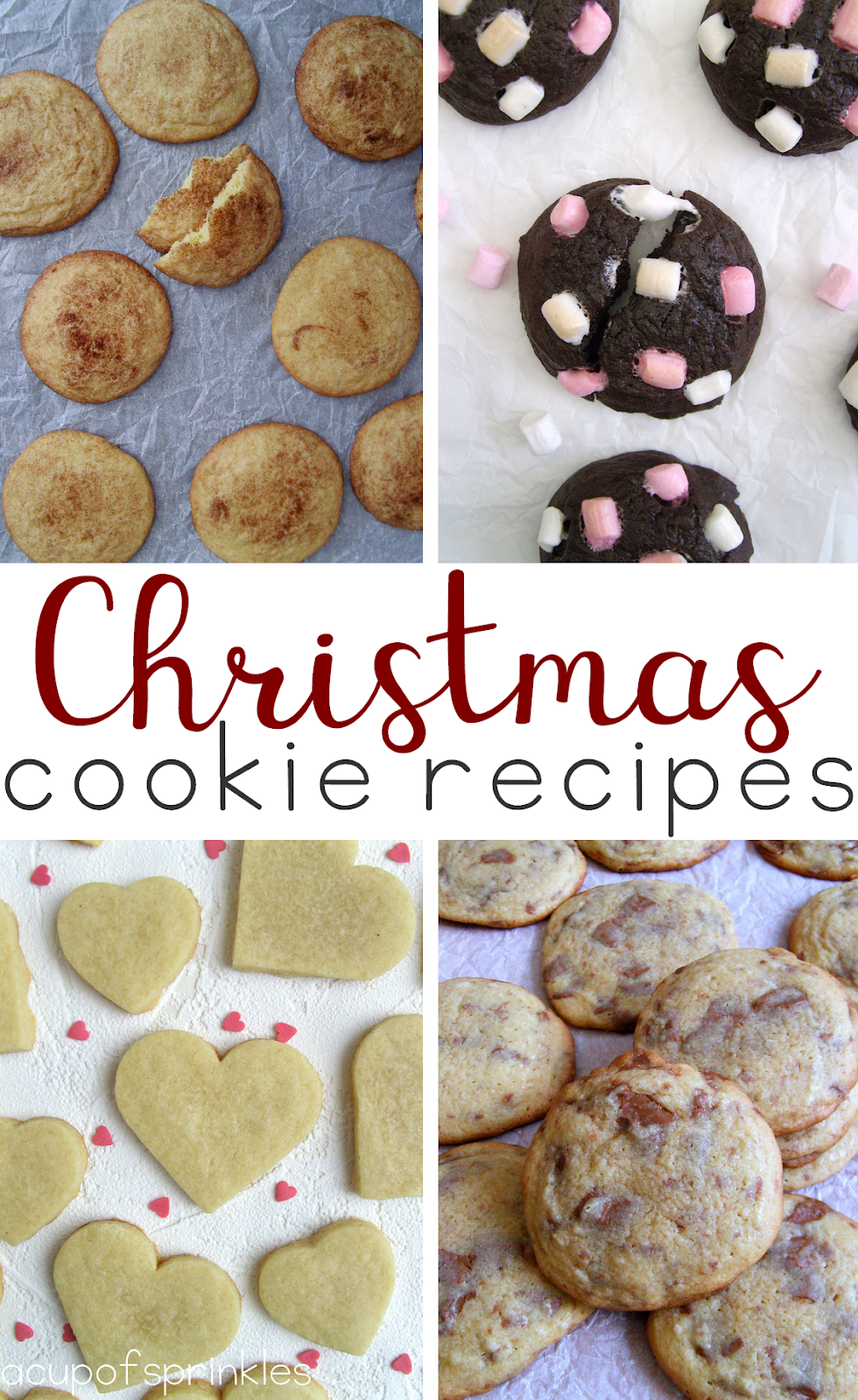 Easy Cookie Recipes for Christmas