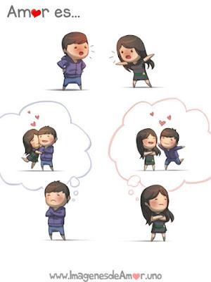 Dibujos tiernos de amor, amor es