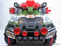 2 Mobil Mainan Aki Junior QX7566A Rocket Jeep