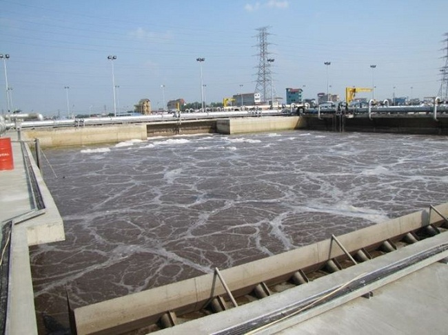 nhà máy sử lý nước thải yên sở của gamuda land đầu tư