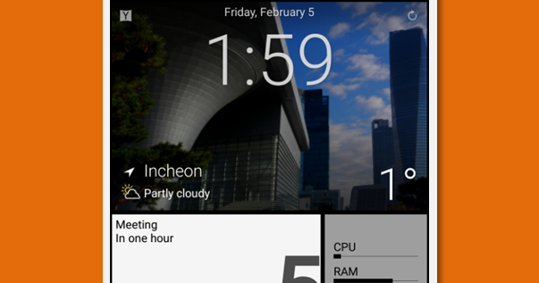 The Best Android Home with Metro UI.