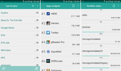 Tampilan Aplikasi FolderMount Pro
